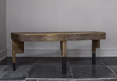 Vincenzo De Cotiis  Desk made of fiber glass and antique wood made in an edition of 3 pieces