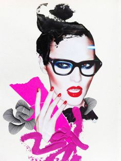 Anna Kornobis LCF fashion illustrator, excited to collaborate with photographers