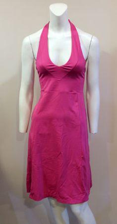 Patagonia-XS-Morning-Glory-Pink-Halter-Sun-Dress