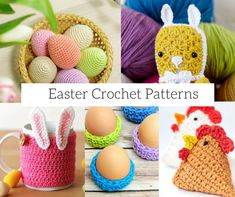 Easter is such a great time for crochet as there are lots of fun ideas you can make to decorate your home or give to friends and family as easter treats. In this post we've collected together 6 of our favourite free Easter crochet patterns. What a beautiful gift this little crochet Easter basket would …