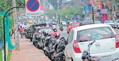 195 parking violation cases against one vehicle in Bengaluru