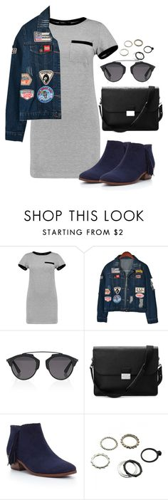 """Sin título #302"" by franciscagomezm on Polyvore featuring moda, MARA, Chicnova Fashion, Christian Dior, Aspinal of London y Sam Edelman"