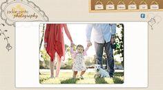 Jackie Pinto Photography website design by New Skin Media.  SmugMug Customization