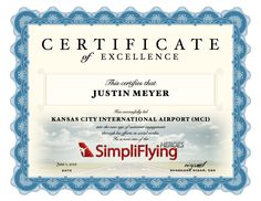 For leading Kansas City International Airport to proficiency in Social Media, Justin Meyer is the SimpliFlying Hero for May 2012