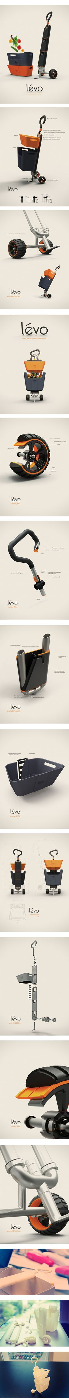 LEVO PRESENTATION LAYOUT -very clean and proper mood for the product