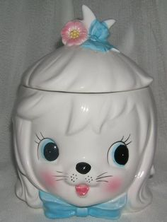 Vintage Lefton Mr. Toodles Cookie Jar