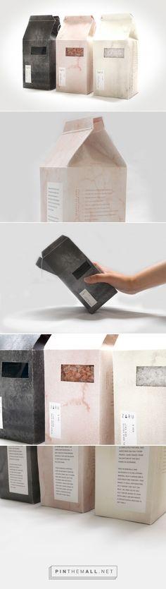 ZARU Salt Packaging by Nadia Al-Munir   Fivestar Branding Agency – Design and Branding Agency & Curated Inspiration Gallery #salt #foodpackaging #packaging #package #packaginginspiration #packagedesign #logo #logotype