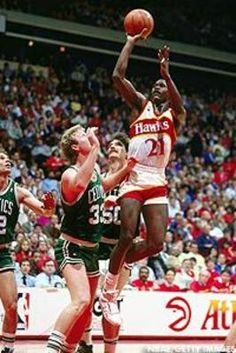 Dominique Wilkins and Larry Bird engaged in a battle of epic proportions on Sunday, May 22nd of 1988.
