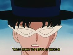 He served up some sick threats: | 18 Times Tuxedo Mask Sexually Awakened You