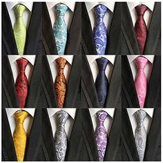 Weishang Lot 12 PCS Classic Men's 100% Silk Tie Necktie W... https://www.amazon.com/dp/B01G6C55PU/ref=cm_sw_r_pi_dp_x_cngByb22MKA6N