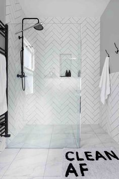 Step up your shower style with these stunning shower room designs Spa Style Next Bathroom, Bathroom Spa, Bathroom Renos, Modern Bathroom, Small Bathroom, Bathroom Renovations, Decorating Bathrooms, Bathroom Ideas, Bathroom Closet