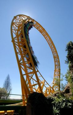 Golden Loop, Gold Reef City in South Africa Johannesburg City, Amusement Park, One And Only, Golden Gate Bridge, South Africa, Tourism, Roller Coasters, African, Explore