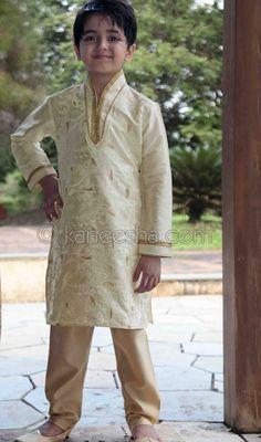 Cream Art Silk Readymade Kurta Pajama Price: Usa Dollar $49, British UK Pound £29, Euro36, Canada CA$53 , Indian Rs2646.