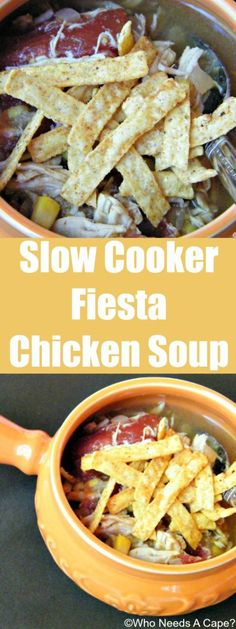 Deliciously easy soup that slow cooks all day. Prep ahead of time and you can freeze prior to cooking too for added ease!