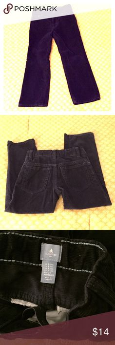 babyGap Navy corduroy pants Excellent condition boys navy blue corduroy pants from babyGap, size 5yrs. Adjustable waist with elastic/button inside of waist. Dress up or down! No flaws. Pet/smoke free home. GAP Bottoms