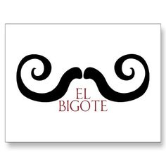 I'm thinking this means Mustache?(: