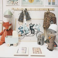 lovely, am i right? i'm very fond of this palette! #kidsroom #kids #decoration