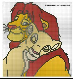 The Lion King Disney Cross Stitch Pattern
