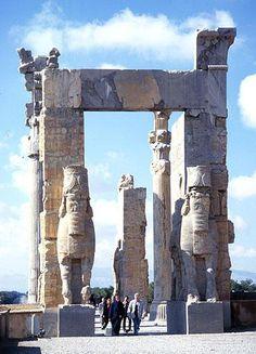 Gate of Nations. Persepolis. Iran