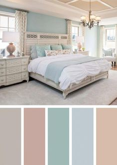 Spectacular Bedroom Paint Colors Design Ideas That Soothing To Make Your Sleep M. - Spectacular Bedroom Paint Colors Design Ideas That Soothing To Make Your Sleep More Comfort 34 - Best Bedroom Colors, Bedroom Colour Palette, Bedroom Color Schemes, Bedroom Paint Colors, Colour Schemes, Paint Colours, Color Combinations, Color Trends, Home Decor Bedroom