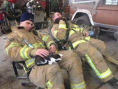 Winooski Firefighters Rescue Kittens from the Rubble Following a Fire