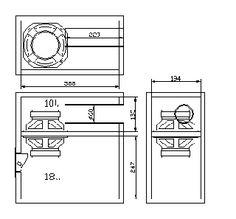 Please visit Electronic Circuit: Subwoofer Speaker box design for more detail information. Subwoofer Diy, Subwoofer Box Design, Speaker Box Design, Subwoofer Speaker, Audio Amplifier, In Wall Speakers, Diy Speakers, Speaker Plans, Box Design