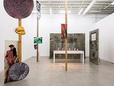 GEOFFREY FARMER Installation view, The Grass and the Banana go for a walk, Catriona Jeffries, Vancouver, 2014