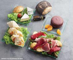 Les plateaux repas tradition de l'Ardoisier Paris - livraison au bureau