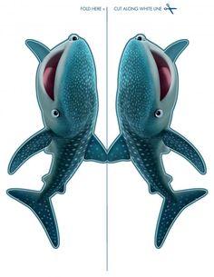Finding Dory printable mobile shark