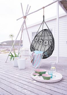 Black And White Outdoor Space Ideas