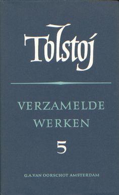 TOLSTOJ, L. N. Verzamelde werken Anna Karenina.  Russische bibliotheek. Serie Publisher: G. A. van Oorschot, Amsterdam. Designed by Helmut Salden