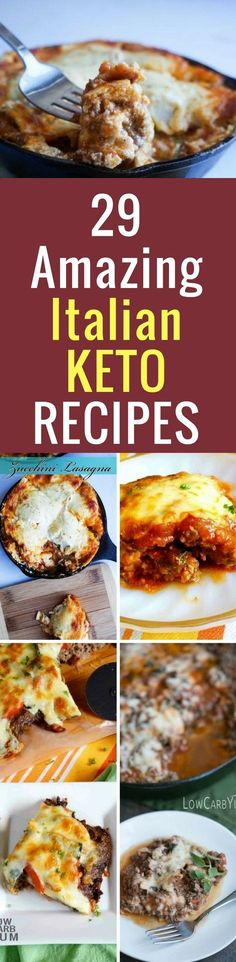Easy Keto Recipes: Low Carb and Keto Italian Dishes (Snacks and Meals)