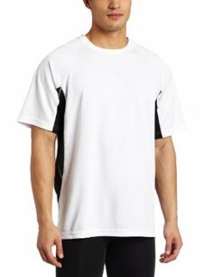 668a07f60f9 Prince Men's Comp Short-Sleeve Crew 3, White/Black, XX-Large Prince. $22.00