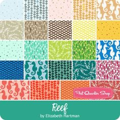 Reef Charm Squares Reservation<br/>Featuring Reef by Elizabeth Hartman
