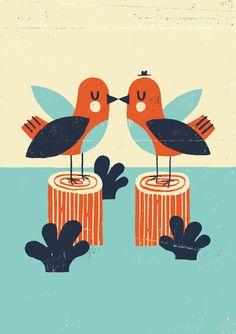 Love Birds by Ben Javens