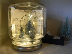 Christmas Jar light by ThisOldBarn on Etsy, $23.00