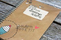 """""""Meine Lieblingsrezepte"""". Das Rezeptbuch für eure besten, liebsten und leckersten Kochrezepte. Egal ob von Mama, Oma oder eure Geheimrezept, jedes ..."""