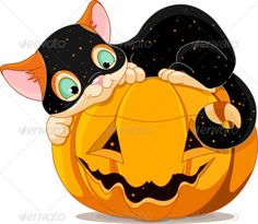 Halloween Kitten A cute kitten with Halloween costume, lying happily on a pumpkin. EPS JPG (high resolution) Created: GraphicsFilesIncluded: JPGImage Layered: No MinimumAdobeCSVersion: CS Tags: JackO& Costume Halloween, Chat Halloween, Halloween Mignon, Halloween Rocks, Halloween Poster, Halloween Painting, Halloween Clipart, Halloween Pictures, Halloween Projects