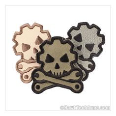 Death Mechanic Morale Patch Airsoft, Badges, Cool Pictures To Draw, Paintball Gear, Morale Boosters, Motorcycle Patches, Skull Logo, Tactical Patches, Cool Patches