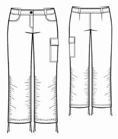 women pants- capri with gathering - free pdf pattern