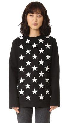 Gareth Pugh Star Long Pullover