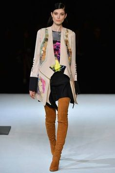 Love the coat. Just Cavalli Fall 2014 Ready-to-Wear Collection Slideshow on Style.com