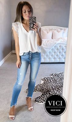 Date Outfits, Night Outfits, Chic Outfits, Dressed To Kill, Weekend Wear, Night Looks, Skinny Jeans, Romantic, Mood