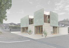 河口佳介/k2-DESIGN Inc. Olive House http://www.kenchikukenken.co.jp/works/1119941886/2144/