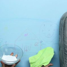 How To Remove Crayon From Your Walls