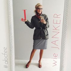 .@thneu | #abcfee #ootd: J wie Janker (Original from my grandfather), dress: #sistermag...