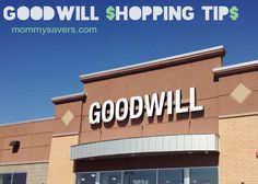 Goodwill Shopping Tips #thrifting #thrifty #thriftstores