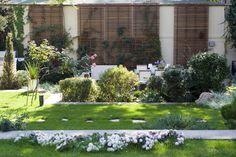#garden #landscape #architecture #green #art Landscape Architecture, Landscape Design, Farmhouse Garden, Big Garden, Bucharest, Garden Landscaping, Fields, Cactus, Sidewalk