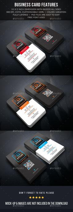 Creative Photographer Business Card Template #design Download: http://graphicriver.net/item/creative-photographer-business-card/13041433?ref=ksioks