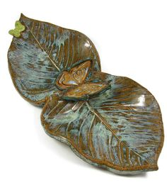 Butterfly Serving Dish / Ready to Ship Today / by PatsPottery,